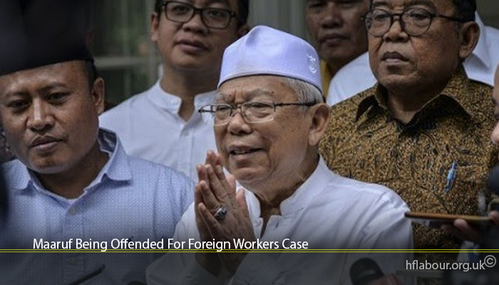 Maaruf Being Offended For Foreign Workers Case