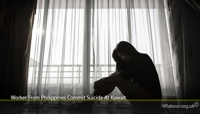 Worker From Philippines Commit Suicide At Kuwait